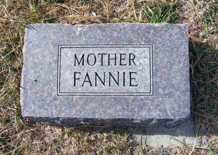 TUCHEK, FANNIE - Box Butte County, Nebraska | FANNIE TUCHEK - Nebraska Gravestone Photos
