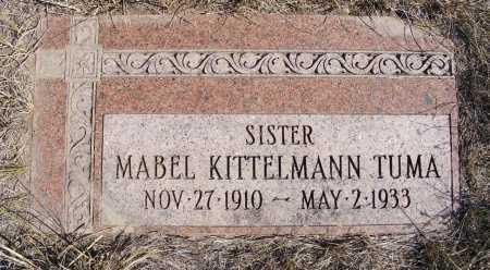 TUMA, MABEL - Box Butte County, Nebraska   MABEL TUMA - Nebraska Gravestone Photos