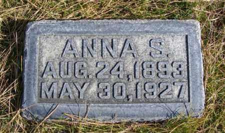 TUREK, ANNA S. - Box Butte County, Nebraska   ANNA S. TUREK - Nebraska Gravestone Photos