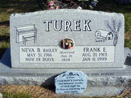 BAILEY TUREK, NEVA B. - Box Butte County, Nebraska | NEVA B. BAILEY TUREK - Nebraska Gravestone Photos