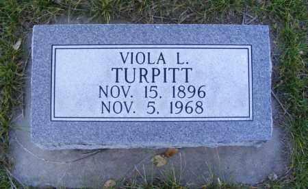 TURPITT, VIOLA L. - Box Butte County, Nebraska | VIOLA L. TURPITT - Nebraska Gravestone Photos