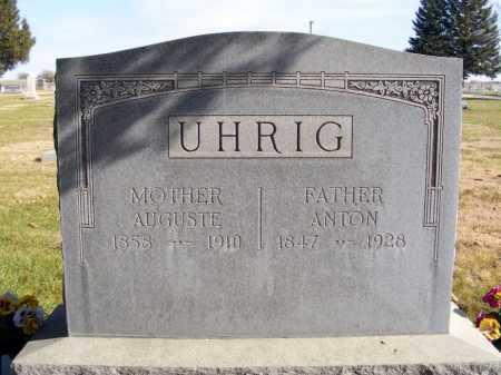 UHRIG, ANTON - Box Butte County, Nebraska | ANTON UHRIG - Nebraska Gravestone Photos