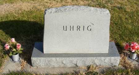 UHRIG, FAMILY - Box Butte County, Nebraska | FAMILY UHRIG - Nebraska Gravestone Photos