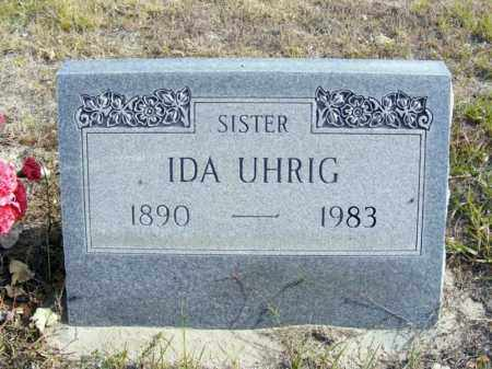 UHRIG, IDA - Box Butte County, Nebraska | IDA UHRIG - Nebraska Gravestone Photos
