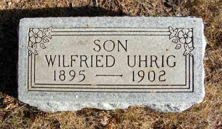 UHRIG, WILFRIED - Box Butte County, Nebraska | WILFRIED UHRIG - Nebraska Gravestone Photos