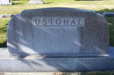 USTOHAL, FAMILY - Box Butte County, Nebraska   FAMILY USTOHAL - Nebraska Gravestone Photos