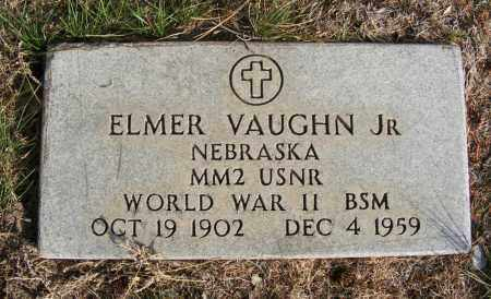 VAUGHN, ELMER JR. - Box Butte County, Nebraska | ELMER JR. VAUGHN - Nebraska Gravestone Photos