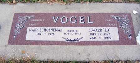 "VOGEL, EDWARD ""ED"" - Box Butte County, Nebraska | EDWARD ""ED"" VOGEL - Nebraska Gravestone Photos"