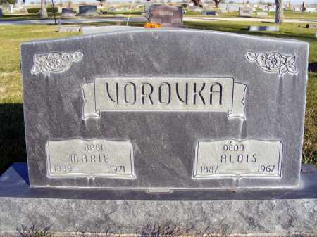 VOROVKA, MARIE - Box Butte County, Nebraska | MARIE VOROVKA - Nebraska Gravestone Photos