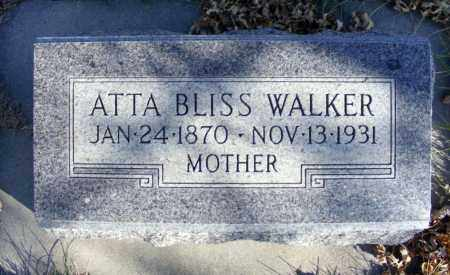 WALKER, ATTA - Box Butte County, Nebraska   ATTA WALKER - Nebraska Gravestone Photos