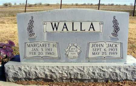 "WALLA, JOHN ""JACK"" - Box Butte County, Nebraska | JOHN ""JACK"" WALLA - Nebraska Gravestone Photos"