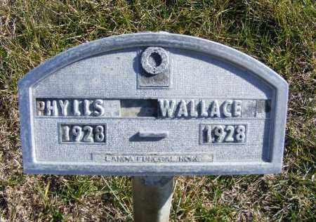 WALLACE, PHYLLS - Box Butte County, Nebraska | PHYLLS WALLACE - Nebraska Gravestone Photos