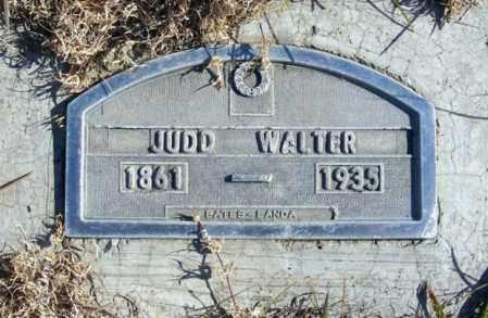 WALTER, JUDD - Box Butte County, Nebraska | JUDD WALTER - Nebraska Gravestone Photos
