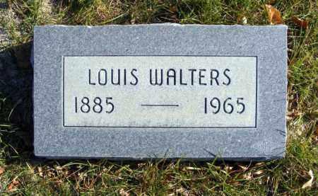 WALTERS, LOUIS - Box Butte County, Nebraska | LOUIS WALTERS - Nebraska Gravestone Photos