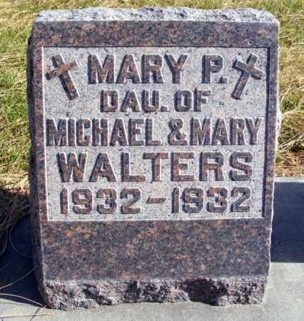 WALTERS, MARY P. - Box Butte County, Nebraska | MARY P. WALTERS - Nebraska Gravestone Photos