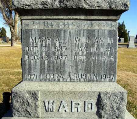 WARD, WILLIAM H. - Box Butte County, Nebraska | WILLIAM H. WARD - Nebraska Gravestone Photos