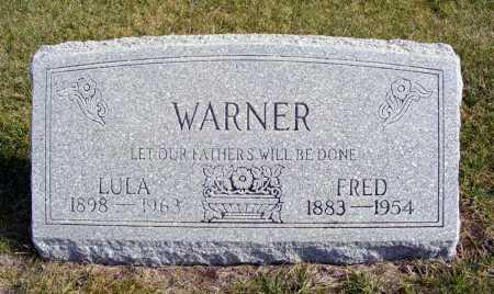 WARNER, LULA - Box Butte County, Nebraska | LULA WARNER - Nebraska Gravestone Photos