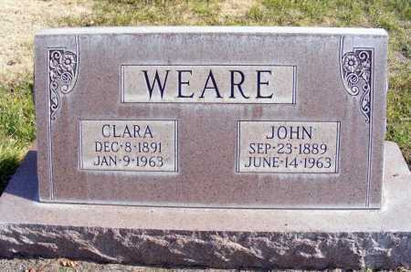 WEARE, CLARA - Box Butte County, Nebraska | CLARA WEARE - Nebraska Gravestone Photos