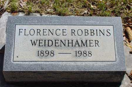 ROBBINS WEIDENHAMER, FLORENCE - Box Butte County, Nebraska   FLORENCE ROBBINS WEIDENHAMER - Nebraska Gravestone Photos