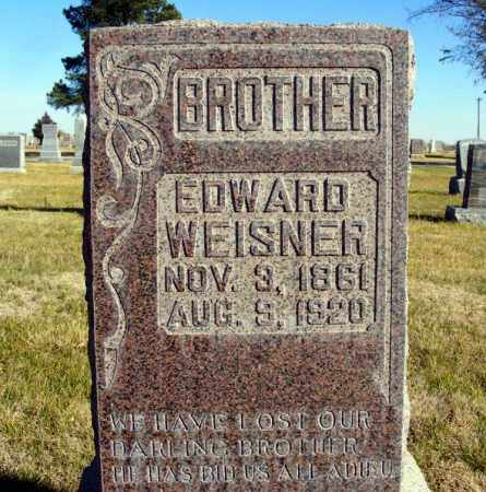 WEISNER, EDWARD - Box Butte County, Nebraska | EDWARD WEISNER - Nebraska Gravestone Photos