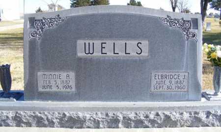 WELLS, ELBRIDGE J. - Box Butte County, Nebraska | ELBRIDGE J. WELLS - Nebraska Gravestone Photos