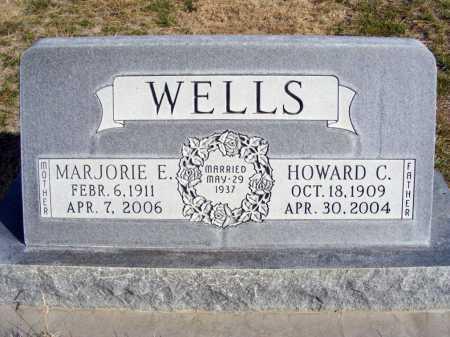WELLS, MARJORIE E. - Box Butte County, Nebraska | MARJORIE E. WELLS - Nebraska Gravestone Photos