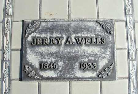 WELLS, JERRY A. - Box Butte County, Nebraska   JERRY A. WELLS - Nebraska Gravestone Photos