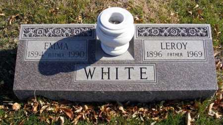 WHITE, LEROY - Box Butte County, Nebraska | LEROY WHITE - Nebraska Gravestone Photos