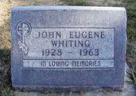 WHITING, JOHN EUGENE - Box Butte County, Nebraska | JOHN EUGENE WHITING - Nebraska Gravestone Photos