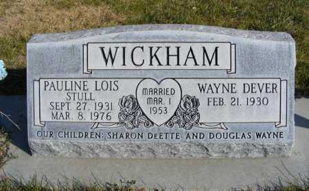 WICKHAM, PAULINE LOIS - Box Butte County, Nebraska | PAULINE LOIS WICKHAM - Nebraska Gravestone Photos