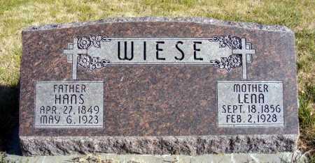 WIESE, LENA - Box Butte County, Nebraska | LENA WIESE - Nebraska Gravestone Photos