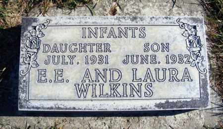 WILKINS, INFANT DAUGHTER - Box Butte County, Nebraska | INFANT DAUGHTER WILKINS - Nebraska Gravestone Photos
