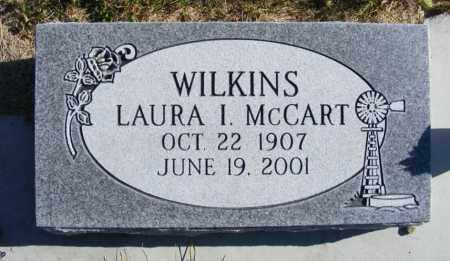 MCCART WILKINS, LAURA I. - Box Butte County, Nebraska | LAURA I. MCCART WILKINS - Nebraska Gravestone Photos