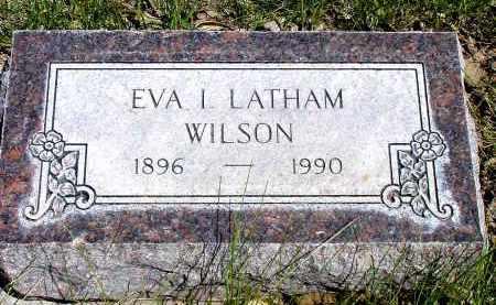 LATHAM WILSON, EVA I. - Box Butte County, Nebraska | EVA I. LATHAM WILSON - Nebraska Gravestone Photos