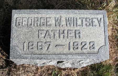 WILTSEY, GEORGE W. - Box Butte County, Nebraska | GEORGE W. WILTSEY - Nebraska Gravestone Photos