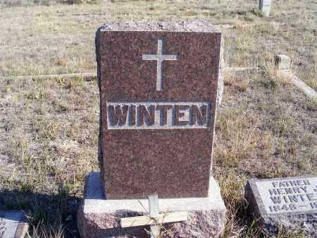 WINTEN, FAMILY STONE - Box Butte County, Nebraska   FAMILY STONE WINTEN - Nebraska Gravestone Photos