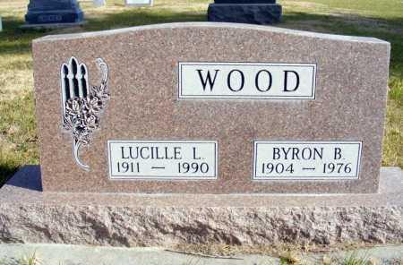 WOOD, BYRON B. - Box Butte County, Nebraska | BYRON B. WOOD - Nebraska Gravestone Photos