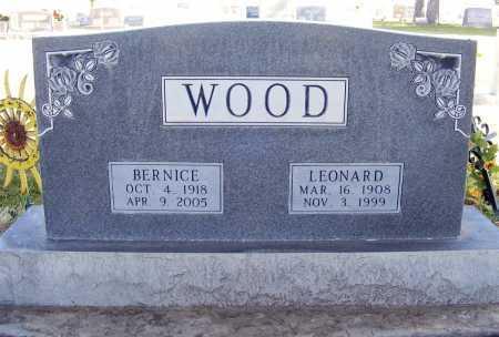 WOOD, LEONARD - Box Butte County, Nebraska | LEONARD WOOD - Nebraska Gravestone Photos