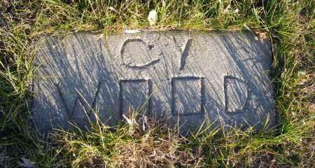 "WOOD, SILAS ""CY"" - Box Butte County, Nebraska | SILAS ""CY"" WOOD - Nebraska Gravestone Photos"