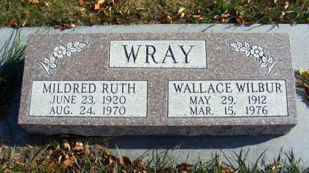 WRAY, WALLACE WILBUR - Box Butte County, Nebraska | WALLACE WILBUR WRAY - Nebraska Gravestone Photos