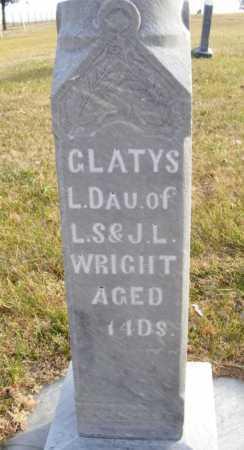 WRIGHT, GLATYS - Box Butte County, Nebraska | GLATYS WRIGHT - Nebraska Gravestone Photos