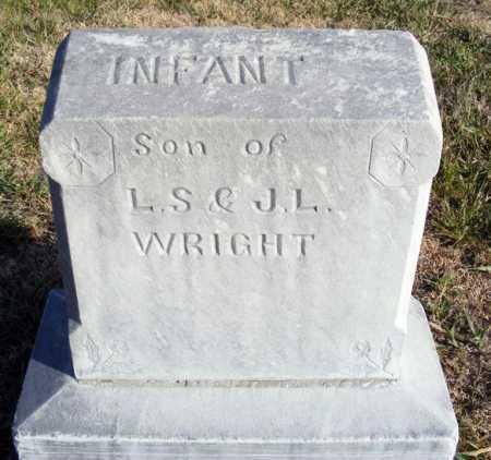 WRIGHT, INFANT SON - Box Butte County, Nebraska | INFANT SON WRIGHT - Nebraska Gravestone Photos