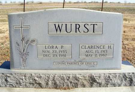 WURST, LORA P. - Box Butte County, Nebraska | LORA P. WURST - Nebraska Gravestone Photos