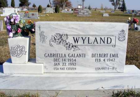 WYLAND, GABRIELLA GALANTI - Box Butte County, Nebraska | GABRIELLA GALANTI WYLAND - Nebraska Gravestone Photos