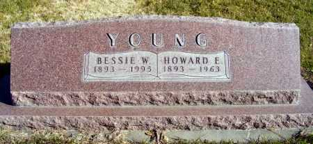 YOUNG, HOWARD E. - Box Butte County, Nebraska | HOWARD E. YOUNG - Nebraska Gravestone Photos