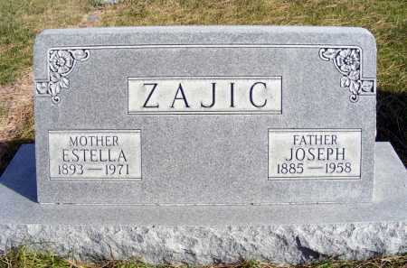 ZAJIC, ESTELLA - Box Butte County, Nebraska | ESTELLA ZAJIC - Nebraska Gravestone Photos