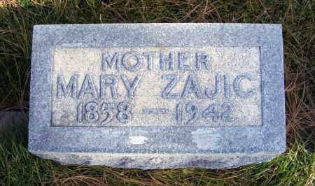 ZAJIC, MARY - Box Butte County, Nebraska | MARY ZAJIC - Nebraska Gravestone Photos
