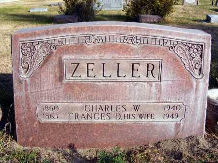 ZELLER, CHARLES W. - Box Butte County, Nebraska | CHARLES W. ZELLER - Nebraska Gravestone Photos