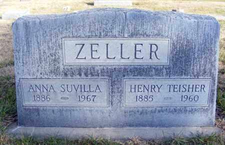 ZELLER, ANNA SUVILLA - Box Butte County, Nebraska | ANNA SUVILLA ZELLER - Nebraska Gravestone Photos