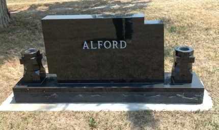 ALFORD, FAMILY STONE - Boyd County, Nebraska   FAMILY STONE ALFORD - Nebraska Gravestone Photos